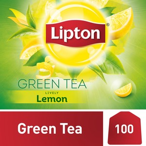 Lipton Green Tea with Lemon 100 Teabags