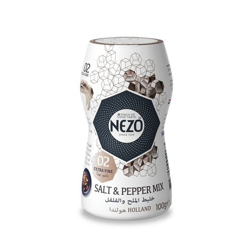 Nezo Salt And Pepper Mix 100g