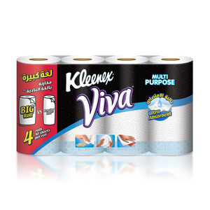 Kleenex Viva Kitchen Towel 90 Sheets x 4 rolls