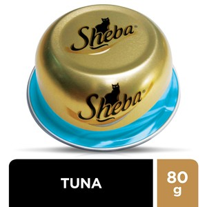 Sheba Tuna Domes Cat Food 80g