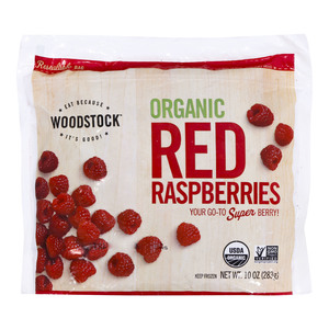 Woodstock Organic Red Raspberries 283g