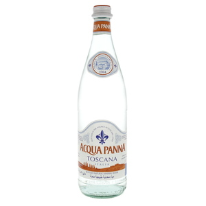 Acqua Panna Toscana Bottled Natural Mineral Water 750ml