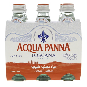 Acqua Panna Toscana Bottled Natural Mineral Water 250ml