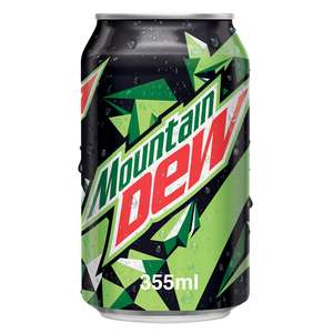 Mountain Dew Carbonated Soft Drink Cans 355ml