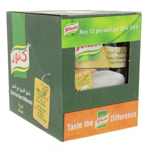 Knorr Cream Of Chicken Soup 12 X 54g