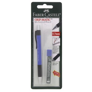 Faber-Castell Grip Matic Mechanical Pencil with Lead 1319 Assorted Colors