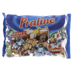 Crispo Praline Assorted Cream Chocolate 1kg