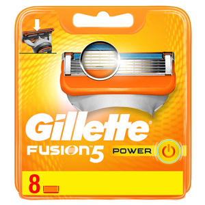 Gillette Fusion Power Men's Razor Blades 8pcs