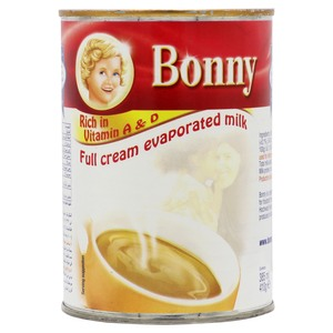 Bonny Full Cream Evaporated Milk 410g
