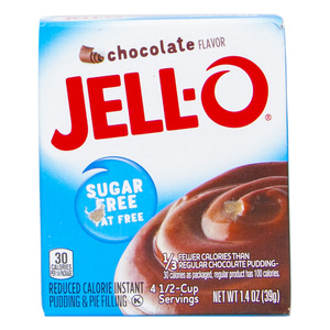 Jello Instant Pudding And Pie Filling Chocolate Flavour 39g