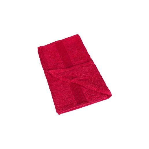 Laura Collection Hand Towel Red Size: W30 x L50cm