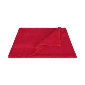 Laura Collection Hand Towel Red Size: W50 x L100cm