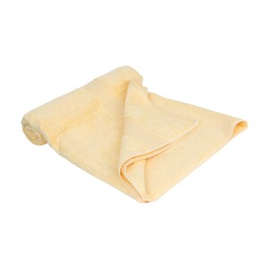 Laura Collection Bath Towel Yellow Size: W70 x L140cm