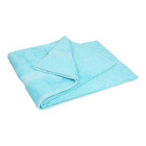 Laura Collection Bath Towel Aquea Size: W90 x L150cm