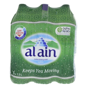 Al Ain Bottled Drinking Water 1.5Litre