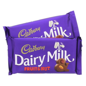 Cadbury Dairy Milk Fruit & Nut 230g x 2pcs