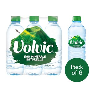 Volvic Natural Mineral Water 500ml