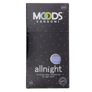 Moods All-night Climax Delay condoms 12pcs