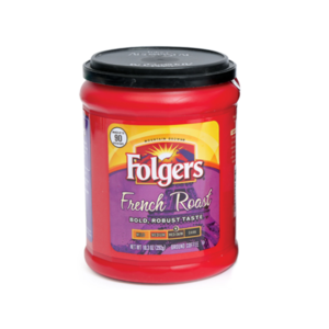 Folgers French Roast Coffee 292g