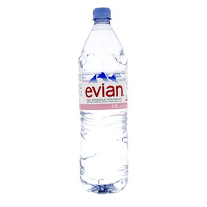 Evian Natural Mineral Water 1.5Litre