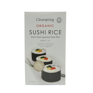 Clearspring Organic Sushi Rice Short Grain 500g