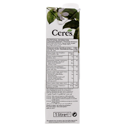 Ceres Juice Passion Fruit 1Litre