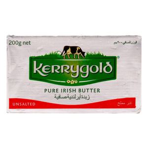 Kerrygold Pure Irish Butter Unsalted 200g