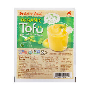 House Organic Tofu Soft 396g