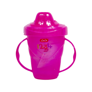 Lulu Baby Cup With Lid Assorted Color 1pc