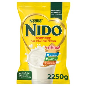Nestle Nido Fortified Full Cream Milk Powder Pouch 2.25kg