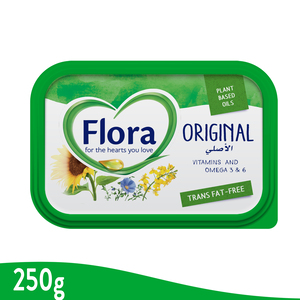 Flora Original Vegetable Oil Spread 250g
