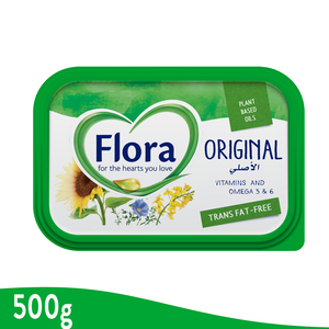 Flora Original Vegetable Oil Spread 500g