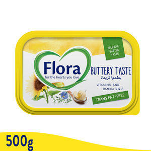Flora Buttery Vegetable Oil Spread 500g
