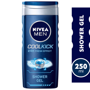 Nivea Shower Gel Cool Kick For Men 250ml