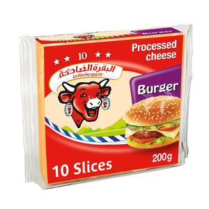La Vache Qui Rit Burger Cheese Slices 10 Slices 200g