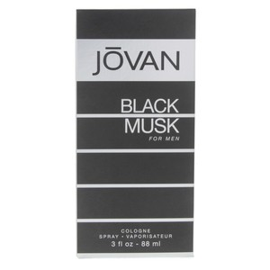 Jovan Black Musk Cologne Spray  fo Men 88ml