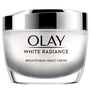 Olay Face Moisturizer White Radiance Brightening Intensive Night Cream with Vitamin B3  50g