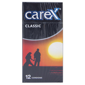 Carex Classic Condoms 12pcs