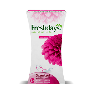 Freshdays Daily Liners Normal Scented 24pcs