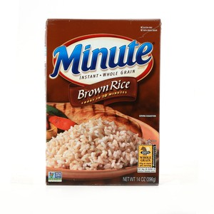 Minute Instant Whole Grain Brown Rice 396g