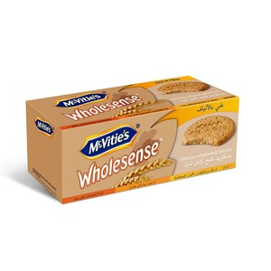 Mc-Vities Wholesense Delicious Whole Wheat Biscuits 400g
