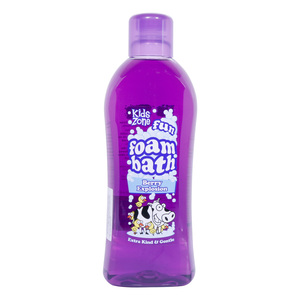 Kids Zone Fun Foam Bath Berry Explosion 1Litre