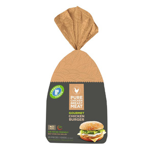 Freshly Foods Gourmet Chicken Burger 1kg