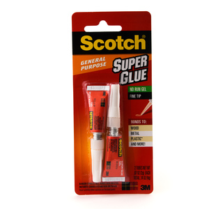 3M Scotch Super Glue Gel 2 x 2g