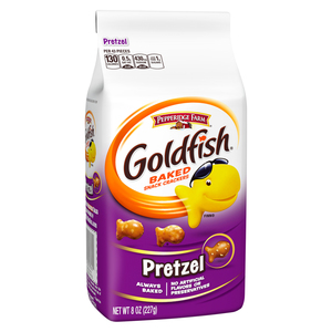 Pepperidge Farm Gold Fish Pretzel Baked Snack Crackers 227g