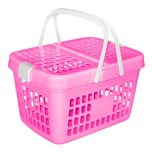 JCJ Picnic Basket 2208 Assorted Colour 1pc