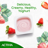 Activia Stirred Yoghurt Full Fat Strawberry 120g