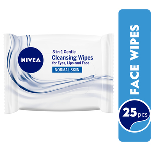 Nivea Face Wipes Refreshing Cleansing Normal Skin 25pcs