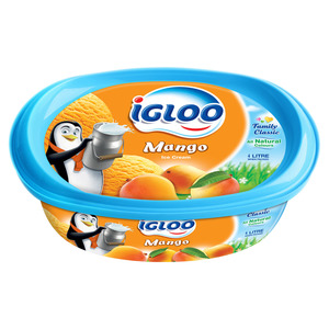 Igloo Mango Ice Cream 4Litre