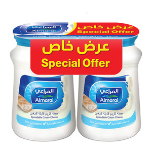 Almarai Spreadable Cream Cheese 2 x 900g